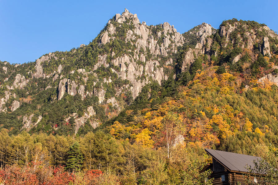 03.みずがき山自然公園からの瑞牆山 12