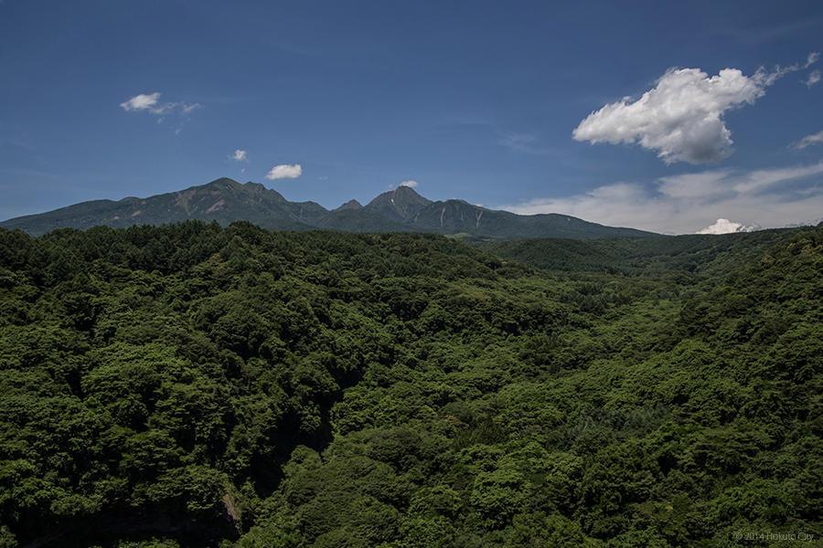 07.高原大橋からの八ヶ岳と川俣川渓谷 03