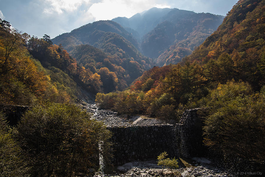 24.精進ヶ滝と石空川渓谷 12