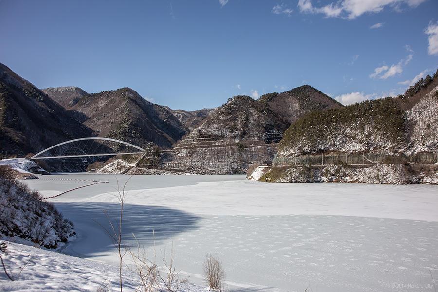 雪景色 07 (みずがき湖)