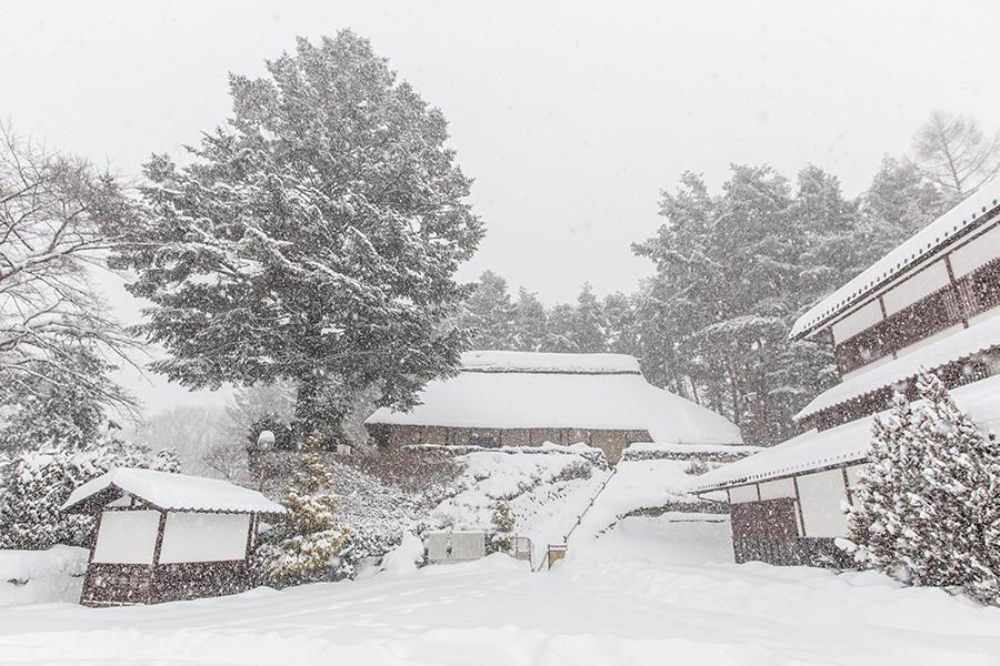 雪景色 04 (旧平田家住宅)